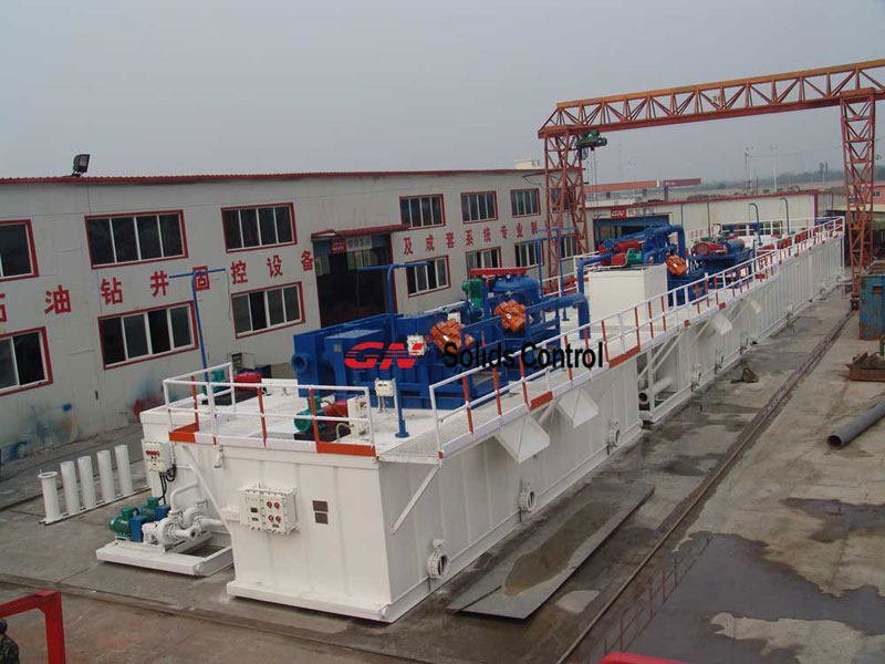 Decanter Centrifuge in Drilling Mud Solids Control System 2
